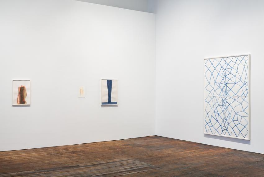 Silvia Bächli: further. evolves.– installation view 10
