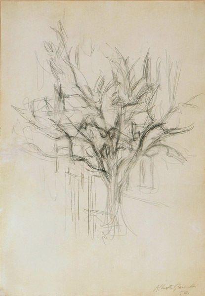 Alberto Giacometti, Arbre