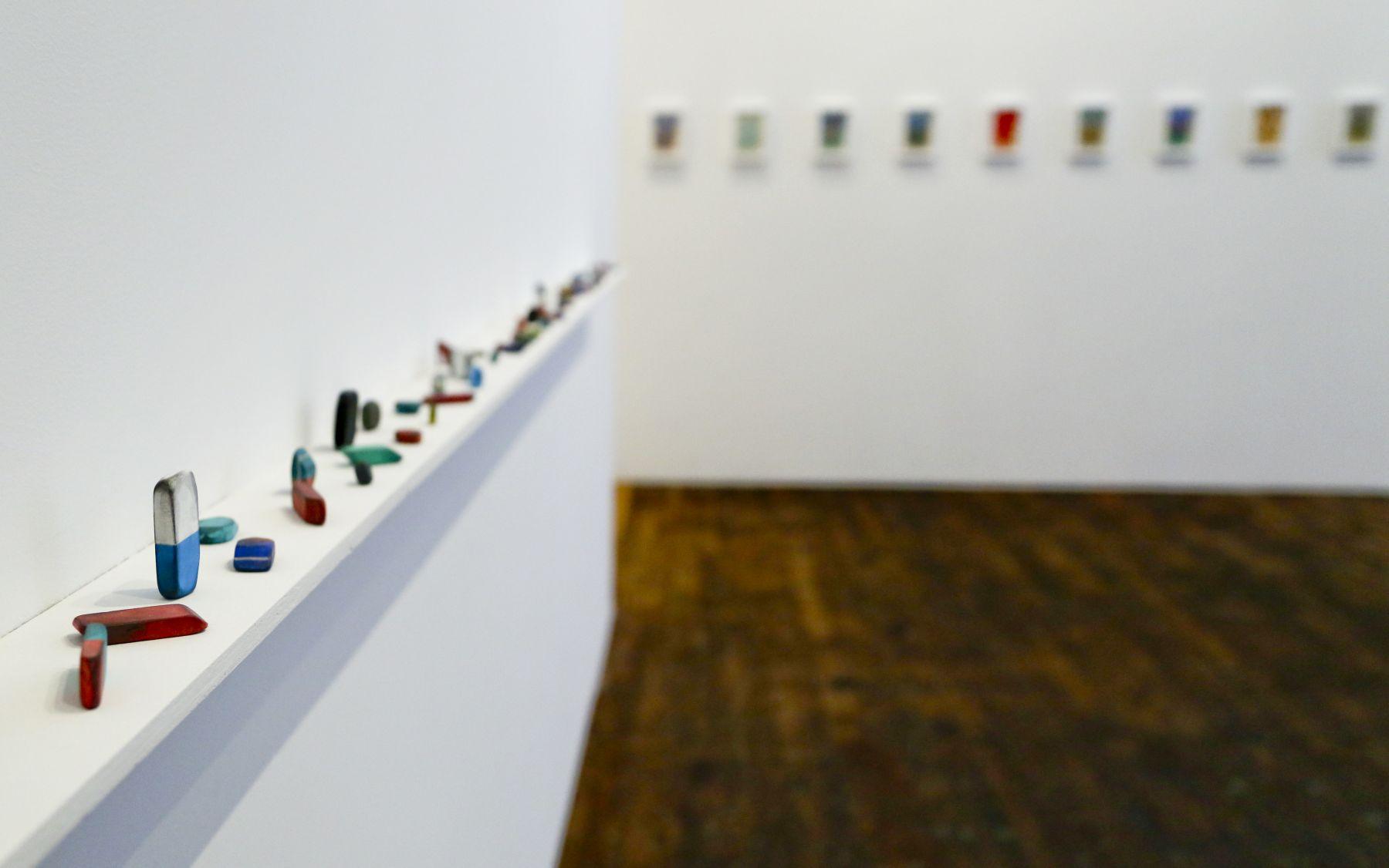 David Adamo / James Castle – installation view 4