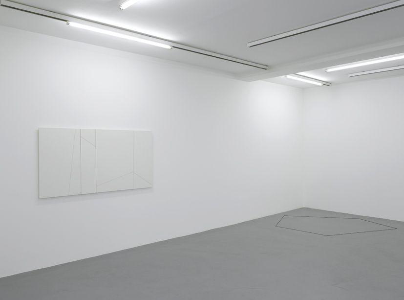Fred Sandback– installation view 2