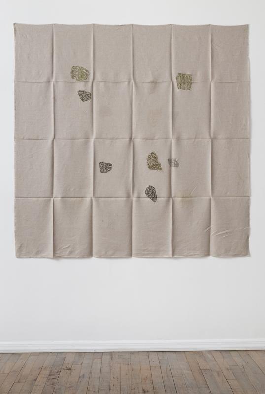 Helen Mirra Hourly directional field notation, 24 August, Bogesundslandet