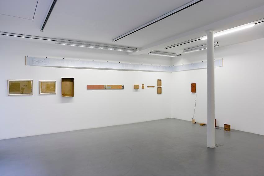 Robert Filliou:Je Meurs trop– installation view 2