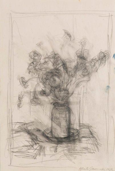 Alberto Giacometti, Fleurs