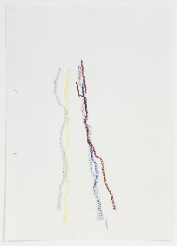 Charlotte Posenenske, Zeichnung (nach der Natur)[Drawing (after Nature)]
