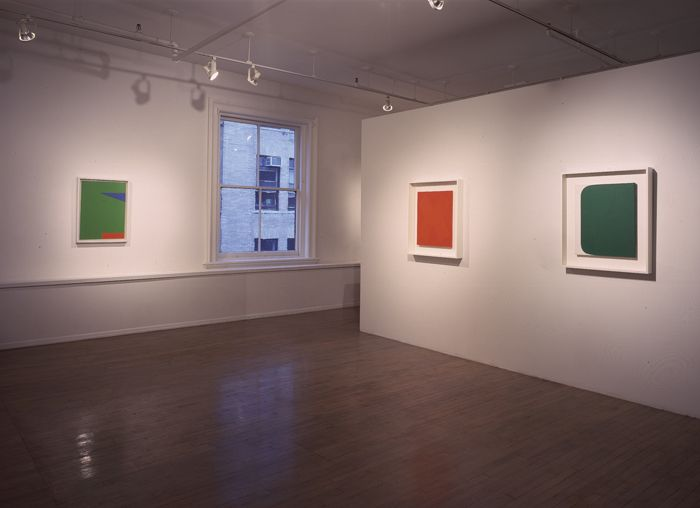 Ellsworth Kelly: Small Paintings, 1955 - 63 – installation view 1