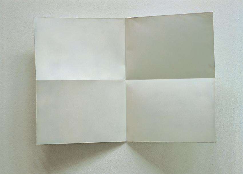 Charlotte Posenenske Faltung (Fold)[white]