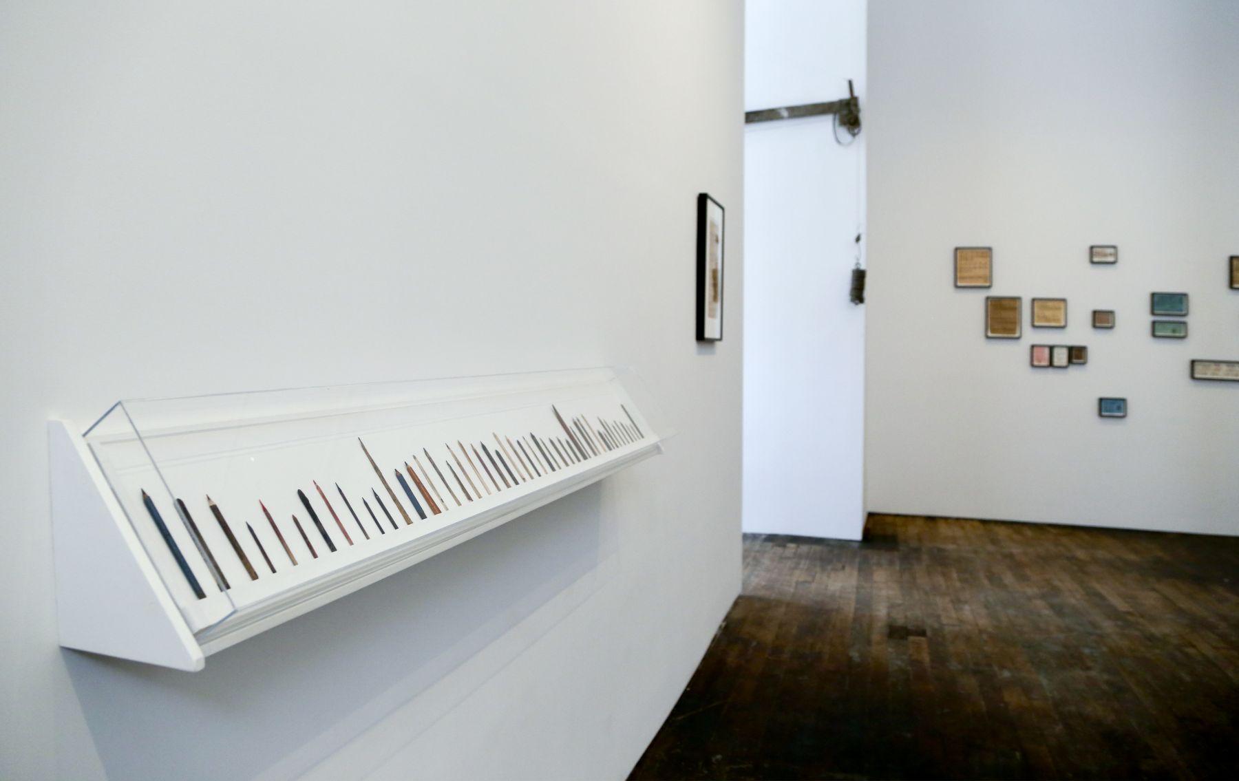 David Adamo / James Castle – installation view 2