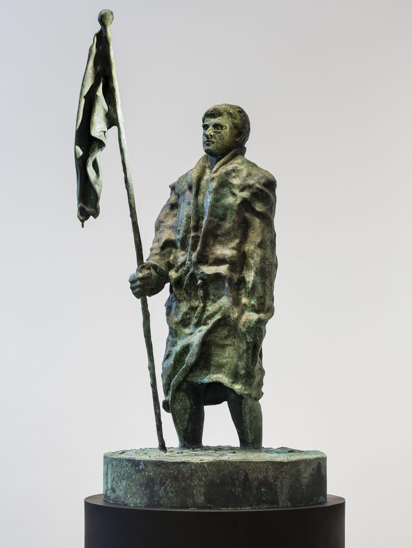 Thomas Schütte, Mann mit Fahne(image 2)