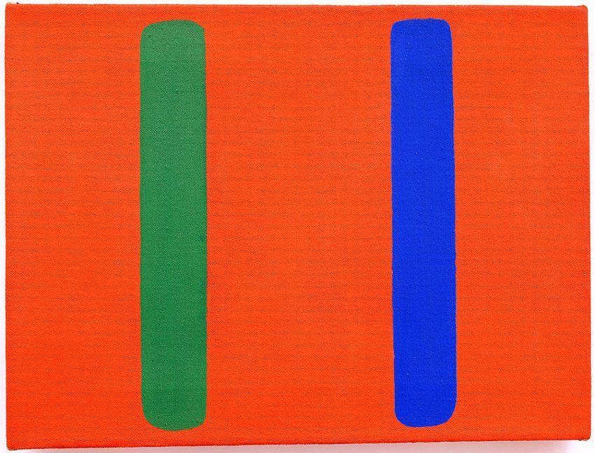 Ellsworth Kelly Blue Green Red (EK 303)