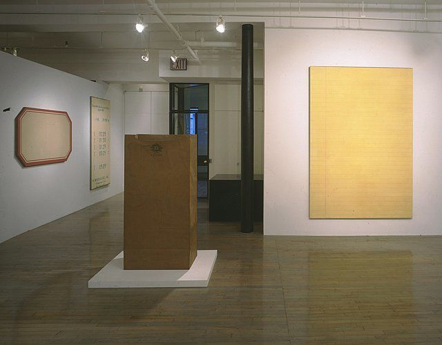 Alex Hay: Works from the 60s– installation view 2
