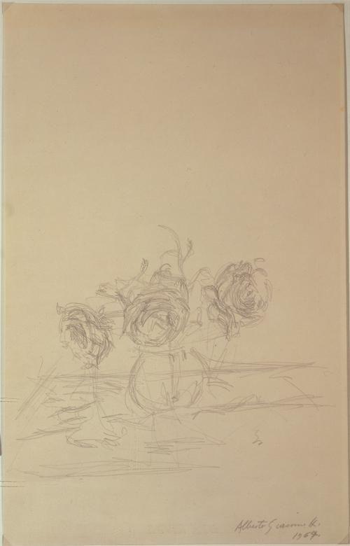 Alberto Giacometti, Vase de fleurs