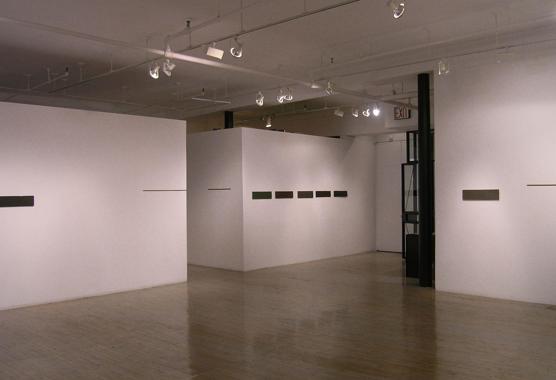 Helen Mirra: Hewn third– installation view 3