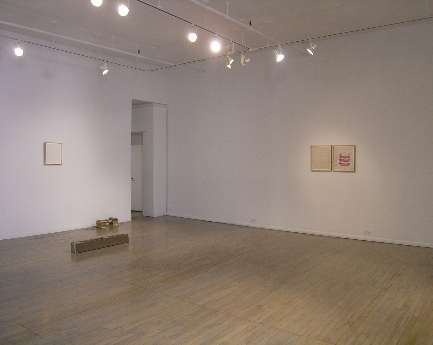 Helen Mirra: Break camp – installation view 1