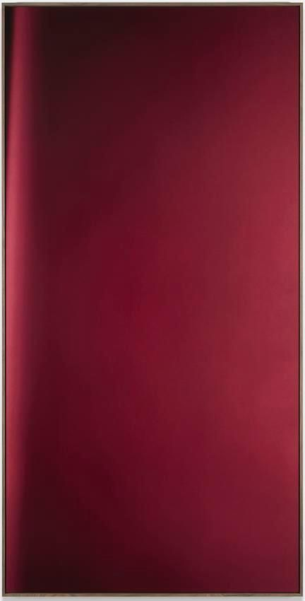 Jan Dibbets New Colorstudies - Red Vertical