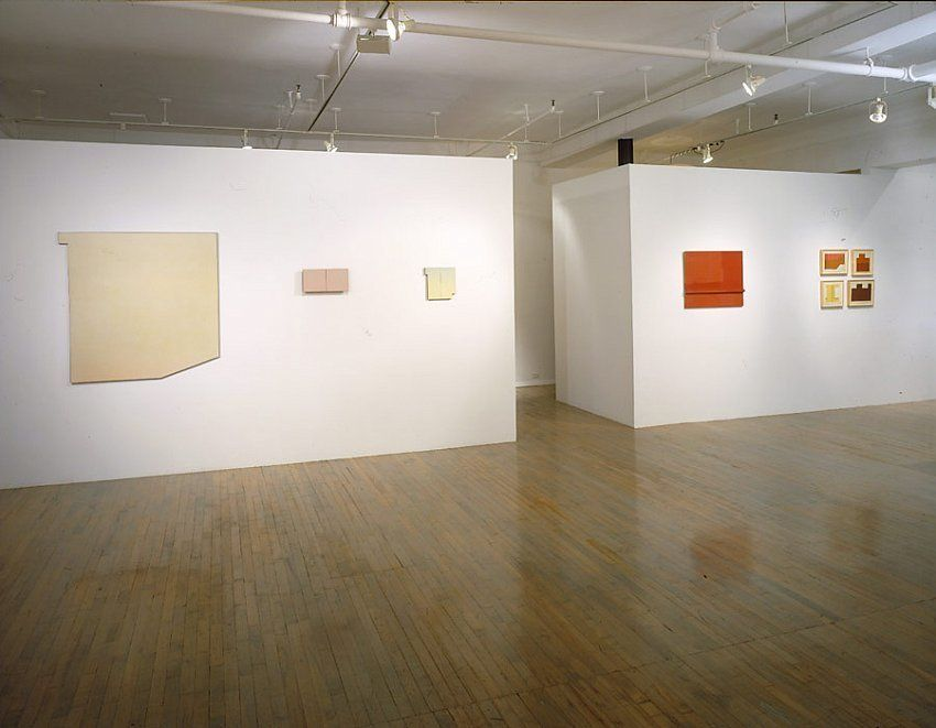Wall, Window, Area: Robert Mangold, Early Paintings,1964-1965 – installation view 1