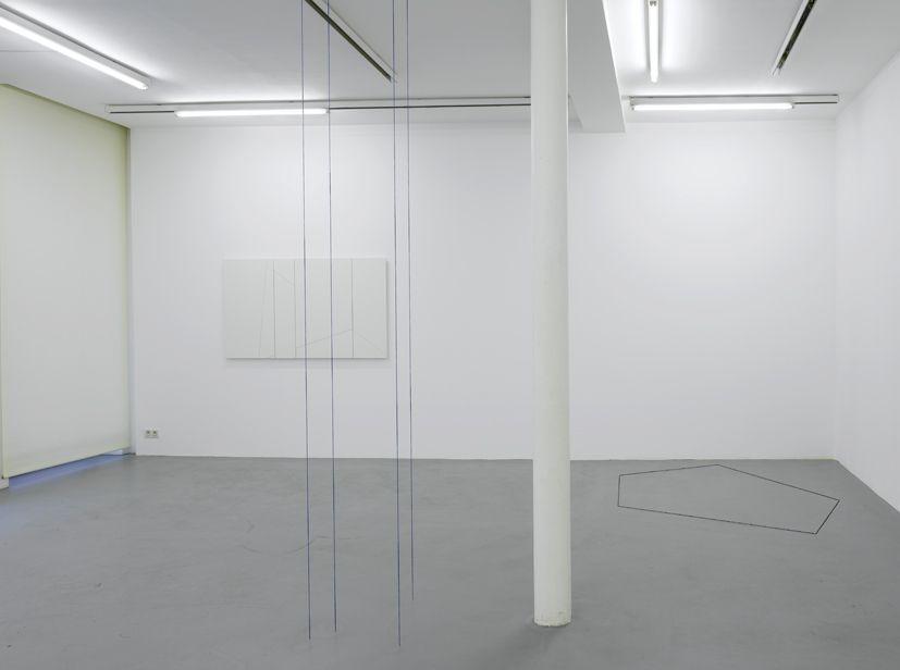 Fred Sandback– installation view 4