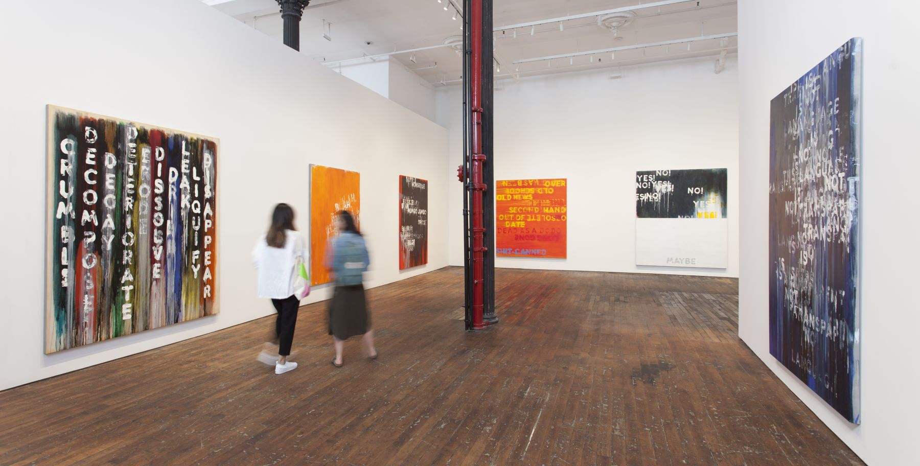 Mel Bochner: Voices – installation view 6