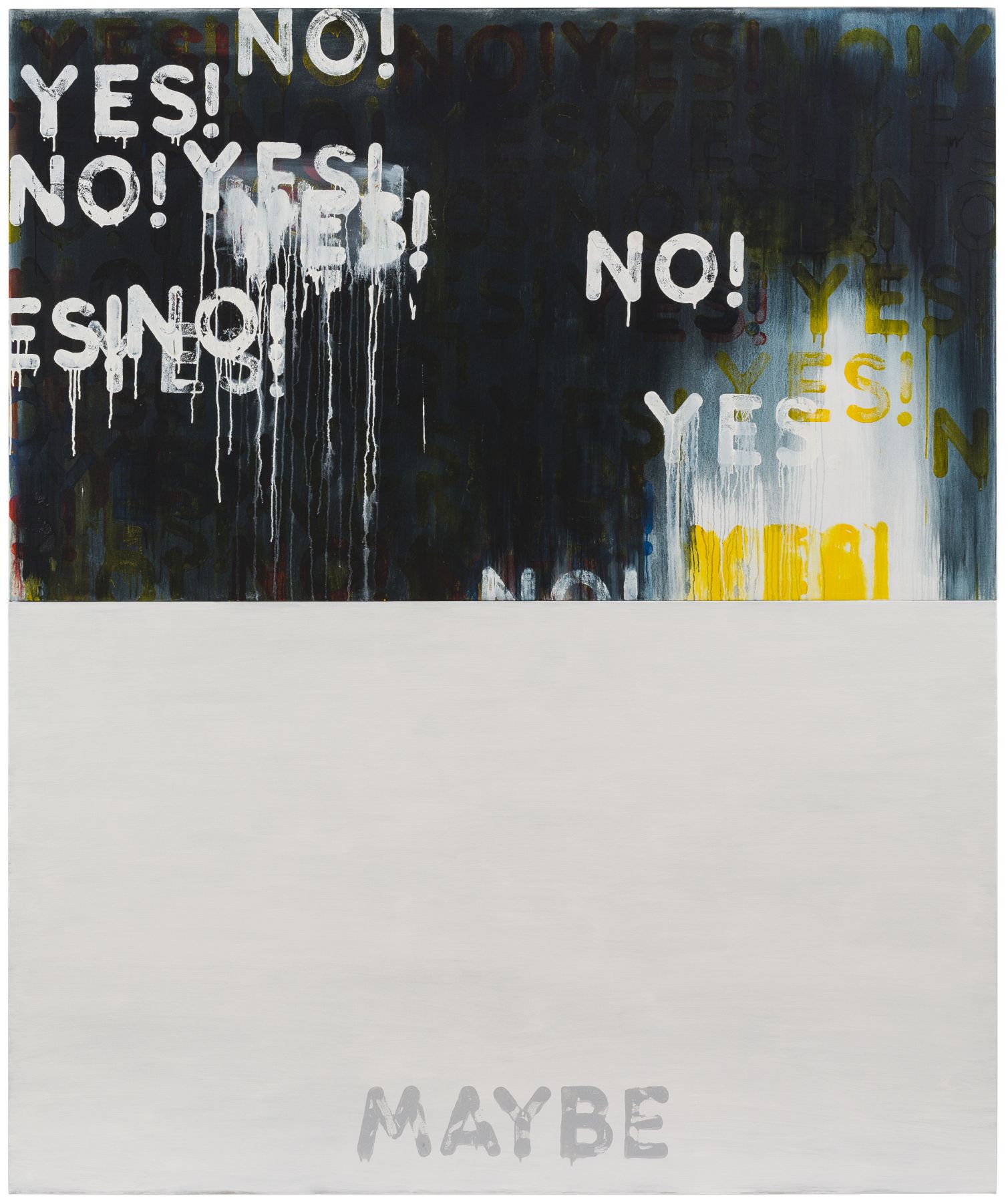 Mel Bochner Yes!/No! Maybe