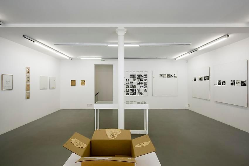 Robert Filliou:Je Meurs trop– installation view 12