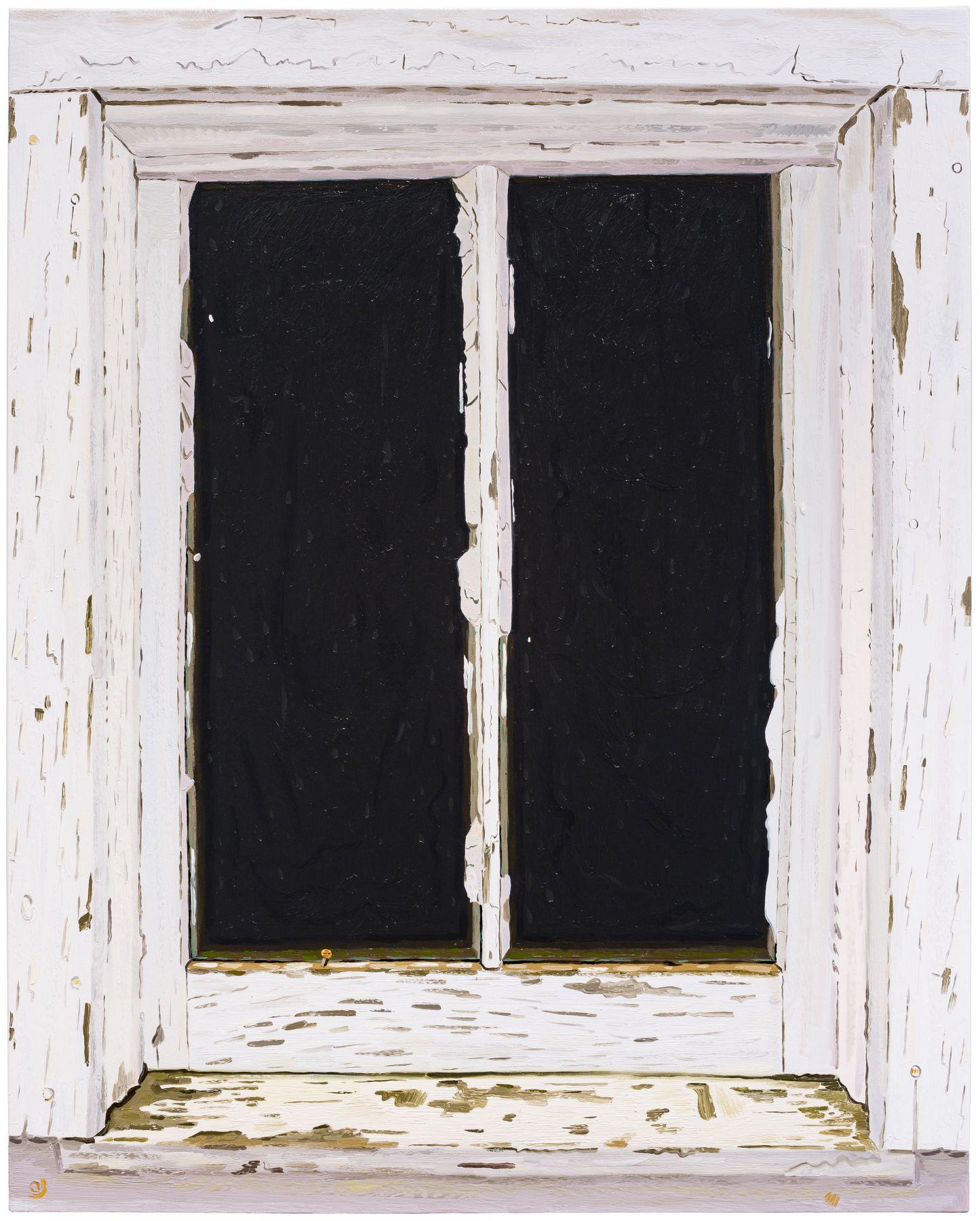 Woodshed Window (April 2018), 2018