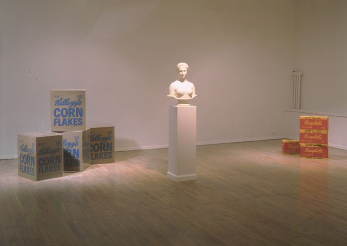 The Ideal Object: Hiram Powers (1848) and Andy Warhol (1964)– installation view 3