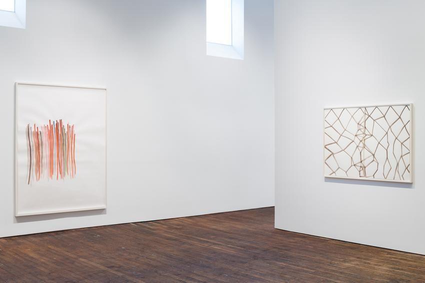Silvia Bächli: further. evolves.– installation view 8