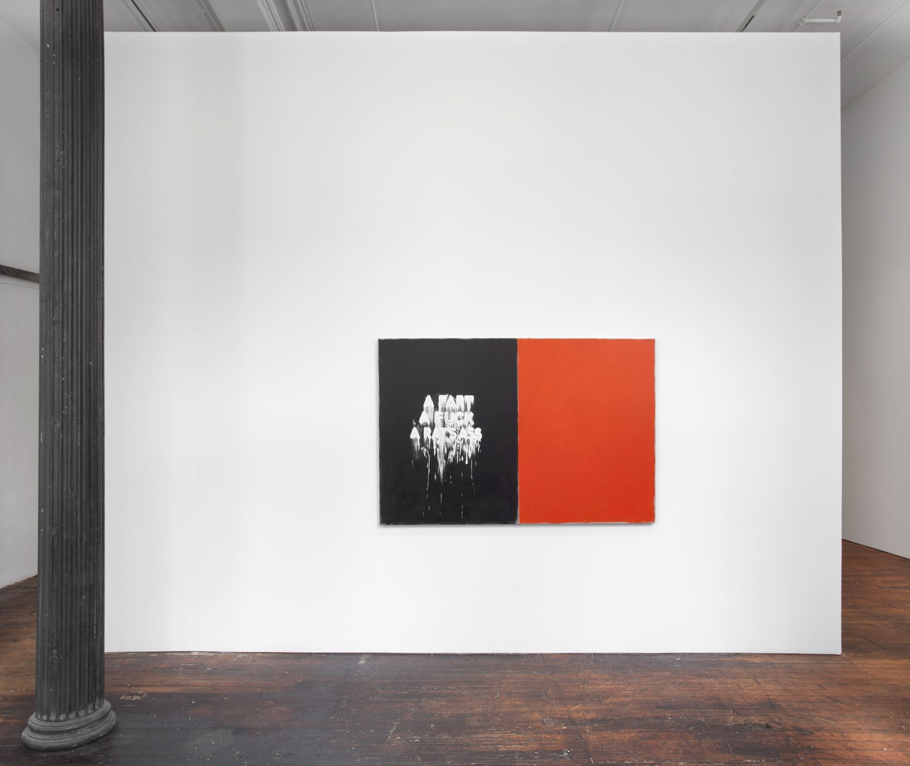 Mel Bochner: Voices – installation view 1
