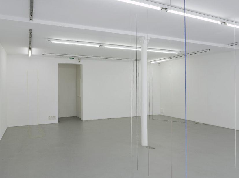 Fred Sandback– installation view 10