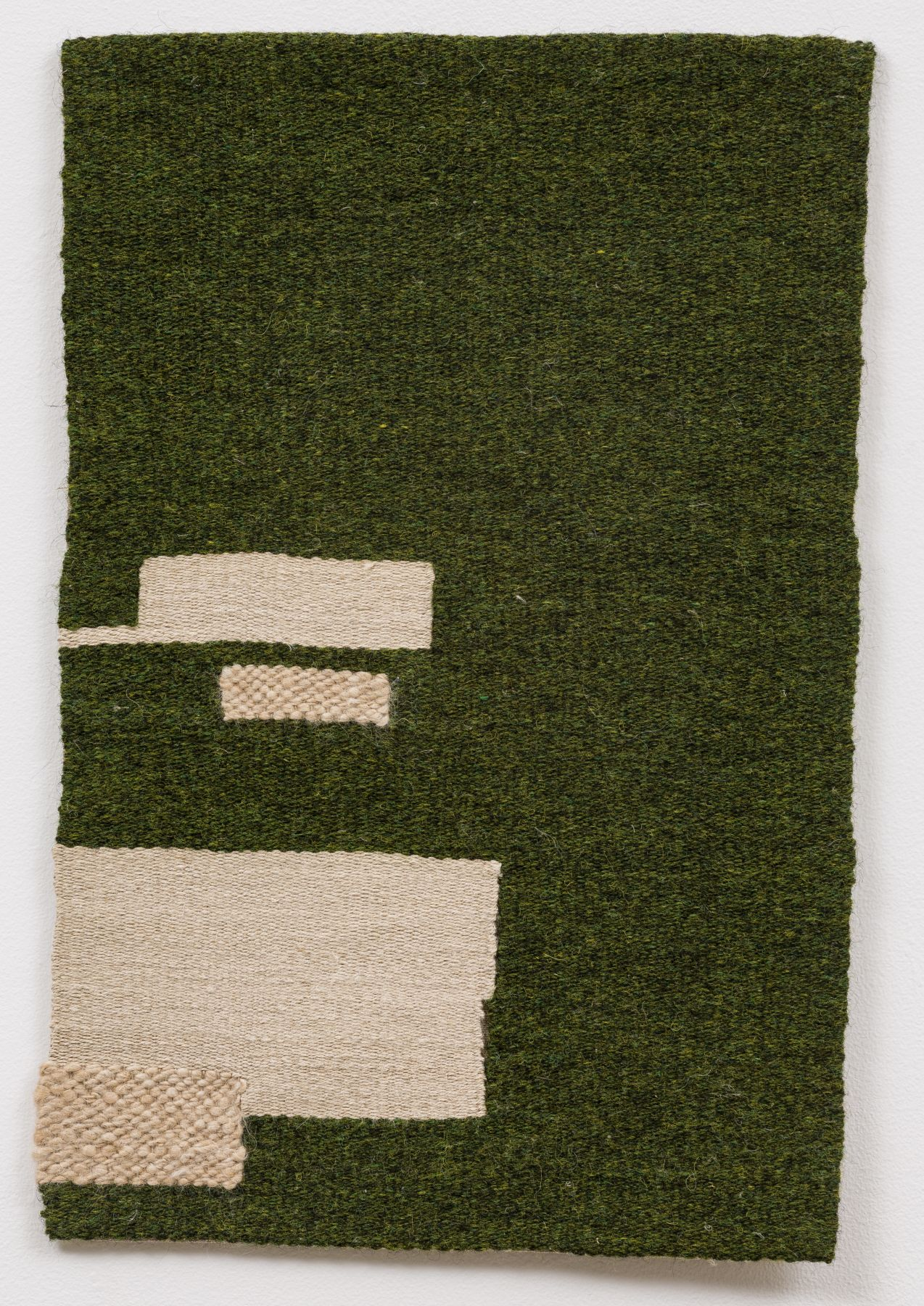 Dark green, undyed, ecru, 2015