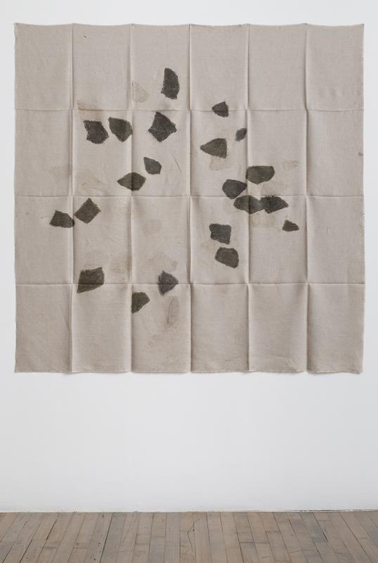 Helen Mirra Hourly directional field notation, 31 August, 6 & 8 September