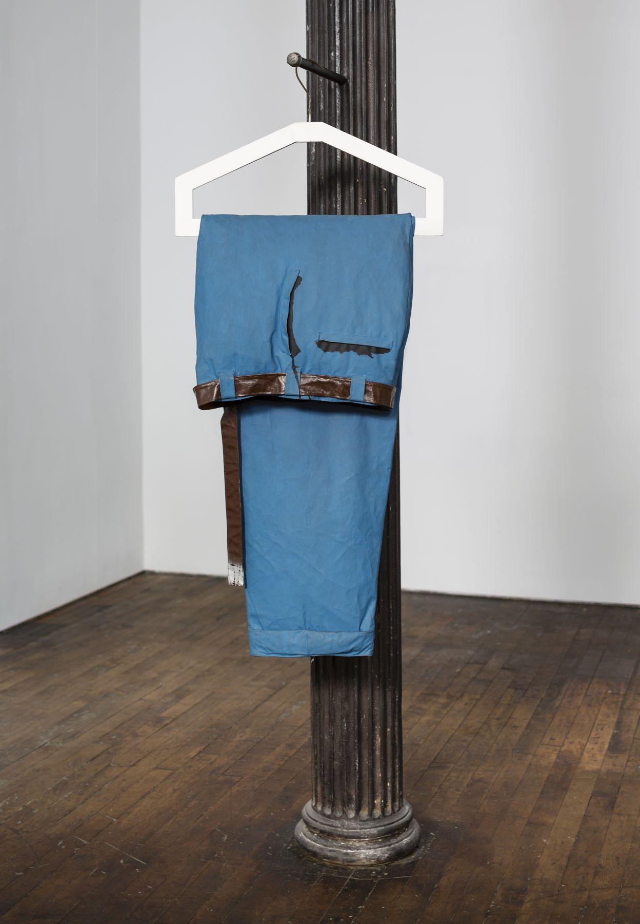 Claes Oldenburg Giant Blue Men's Pants