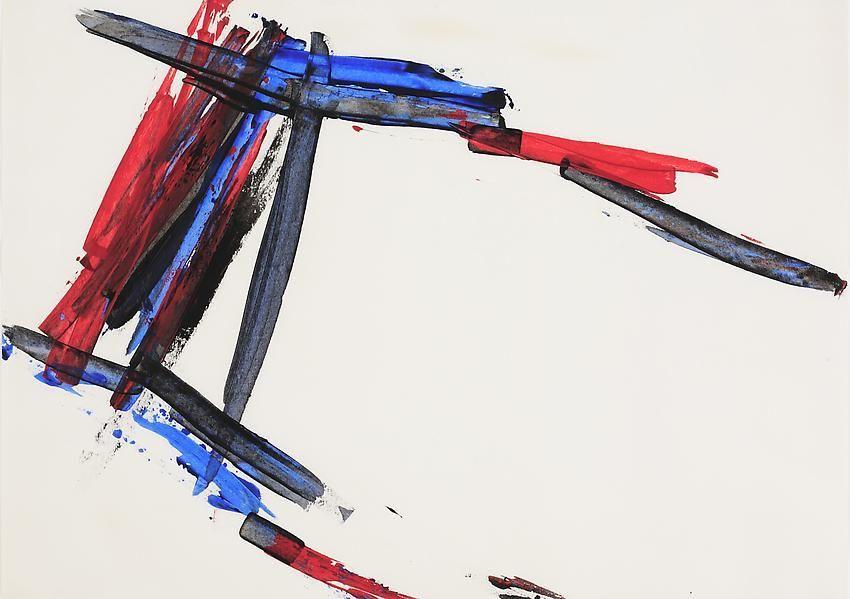 Charlotte Posenenske Spachtelarbeit[Palette-knife work]