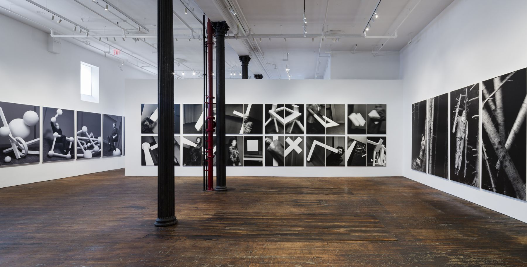 Anna and Bernhard Blume: Scenes from a Photo-Novel – installation view 6