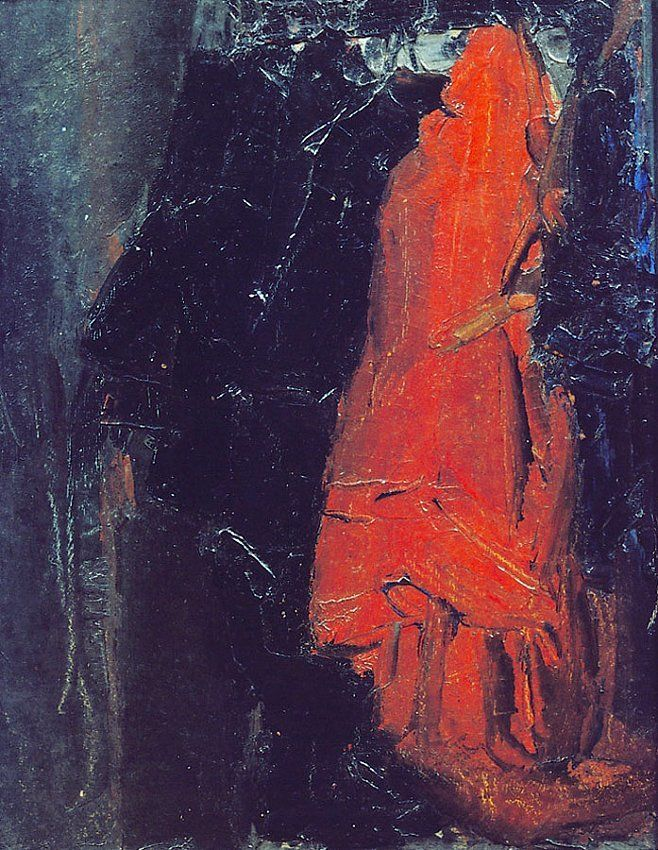 James Ensor Le porte-manteau (The Hatstand)