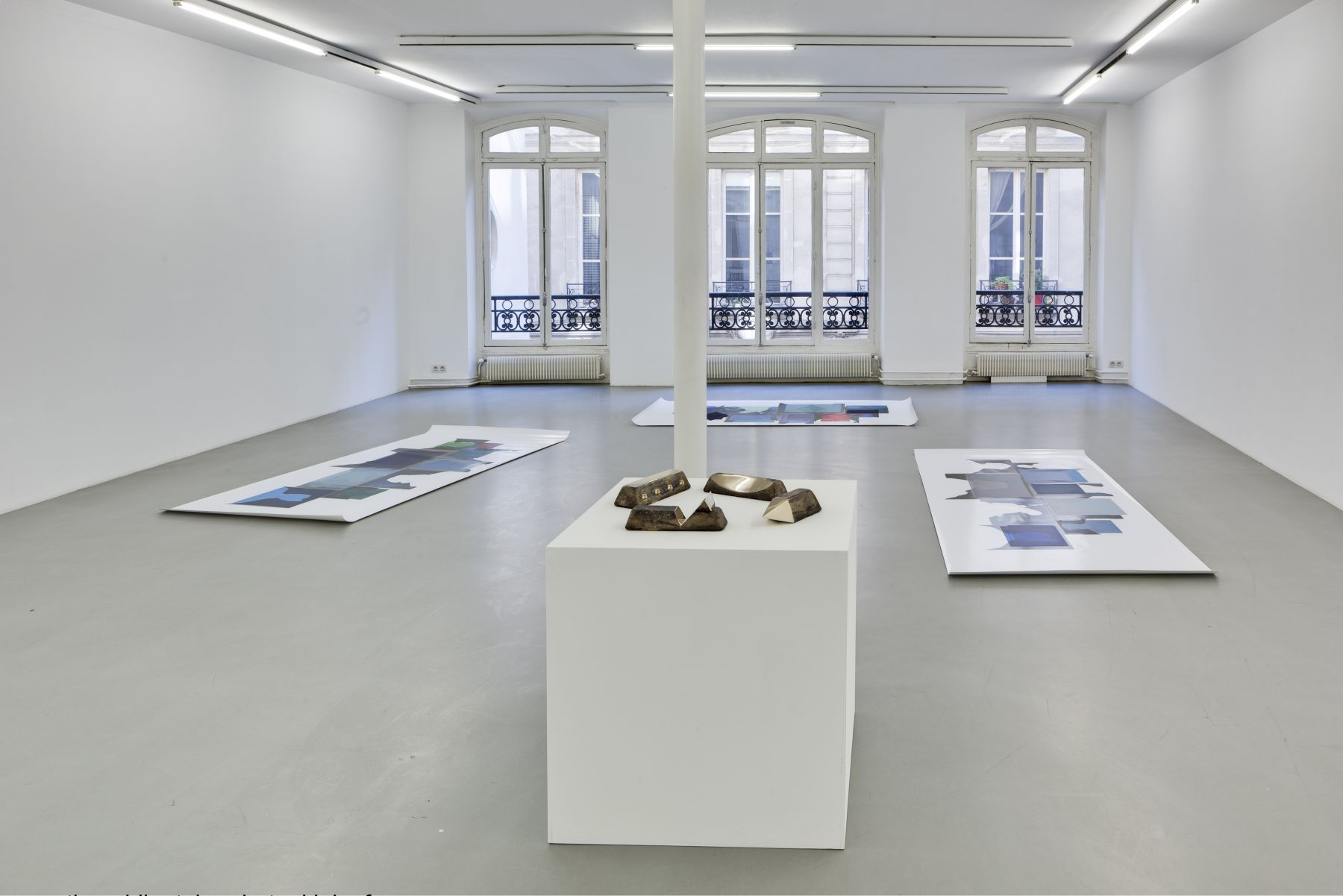 Lucy Skaer: Blanks and Ballast– installation view 8