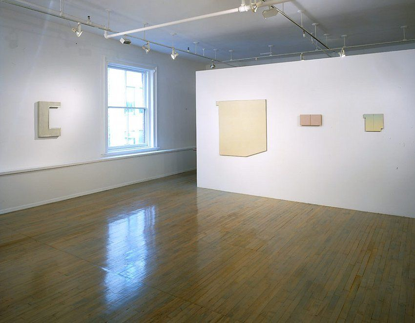 Wall, Window, Area: Robert Mangold, Early Paintings,1964-1965 – installation view 2