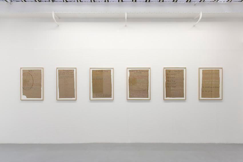 Robert Filliou:Je Meurs trop– installation view 8