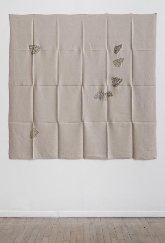 Helen Mirra Hourly directional field notation, 24 July, Handen