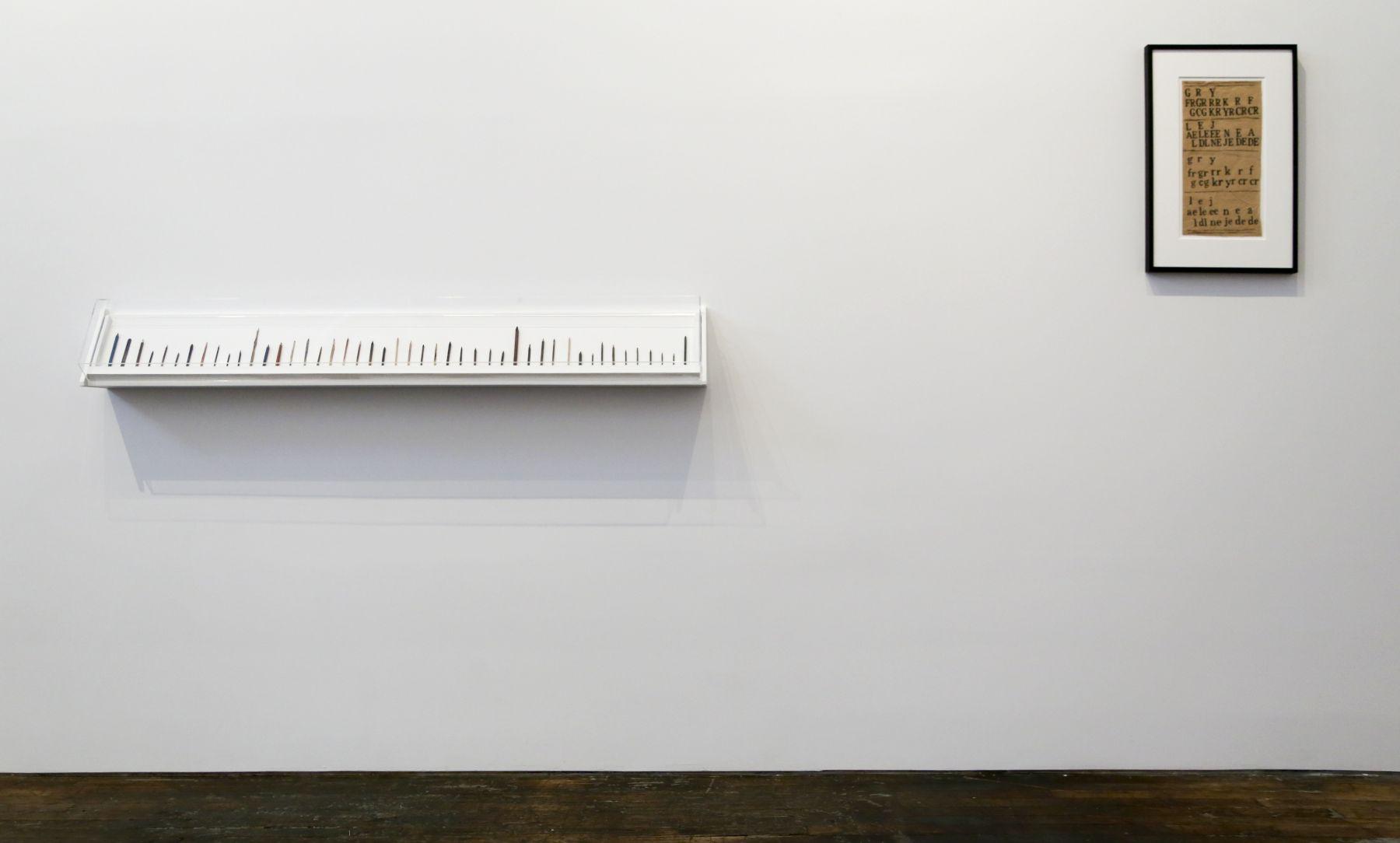 David Adamo / James Castle– installation view 8