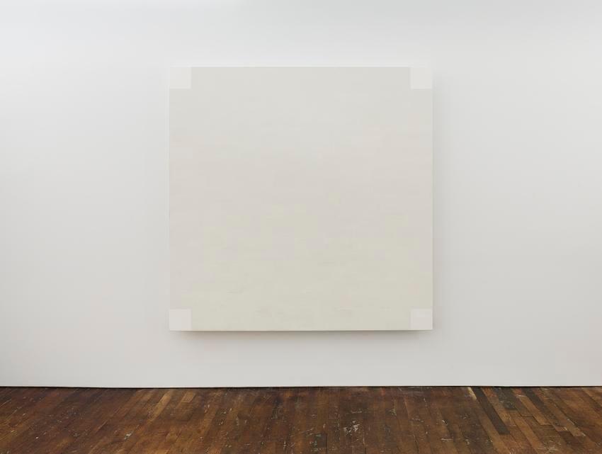 Mary Corse Untitled (White Light, Square Corners, Beveled)