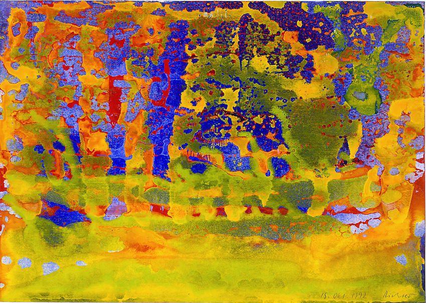 Gerhard Richter, 15 Okt.1992