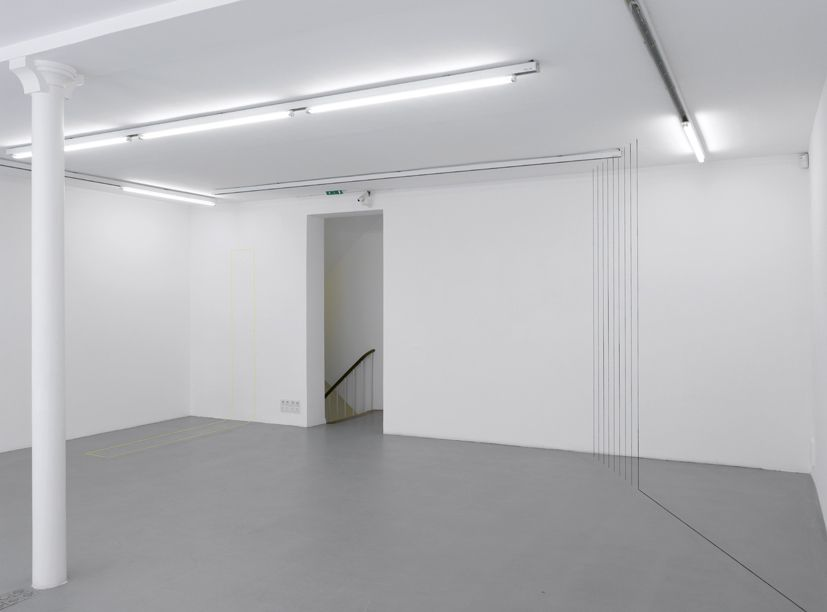 Fred Sandback– installation view 11