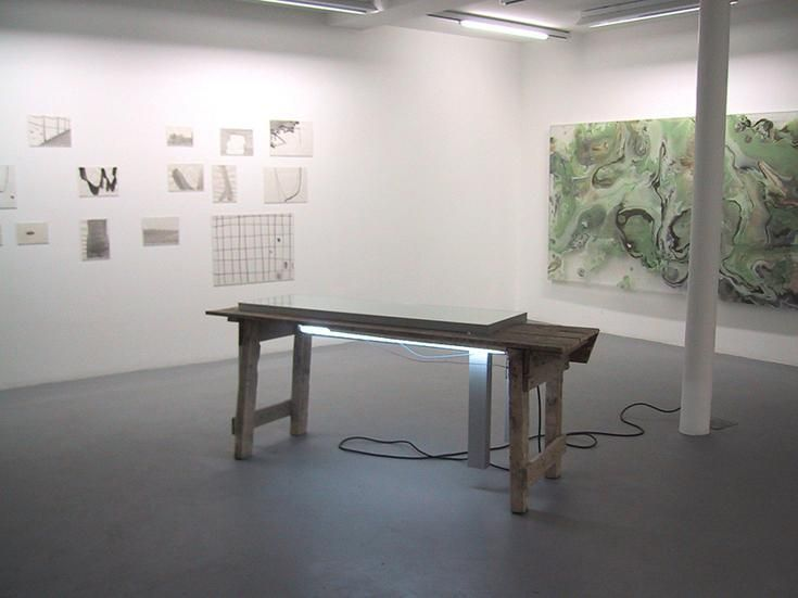 Silvia Bächli, Pedro Cabrita Reis, and Helmut Dorner – installation view 5