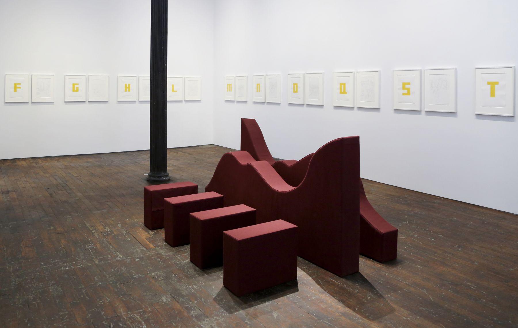 Franz Erhard Walther – installation view 1