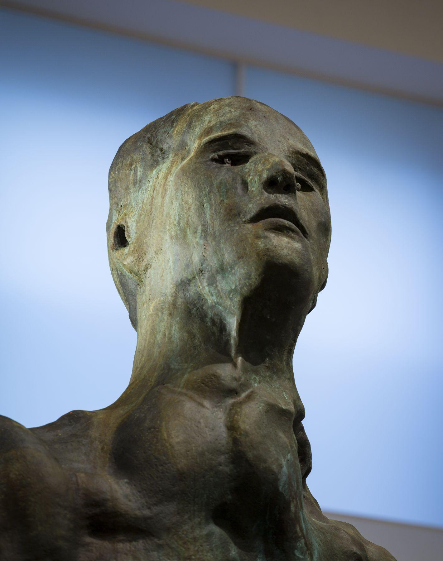 Thomas Schütte, Mann im Wind I (detail)