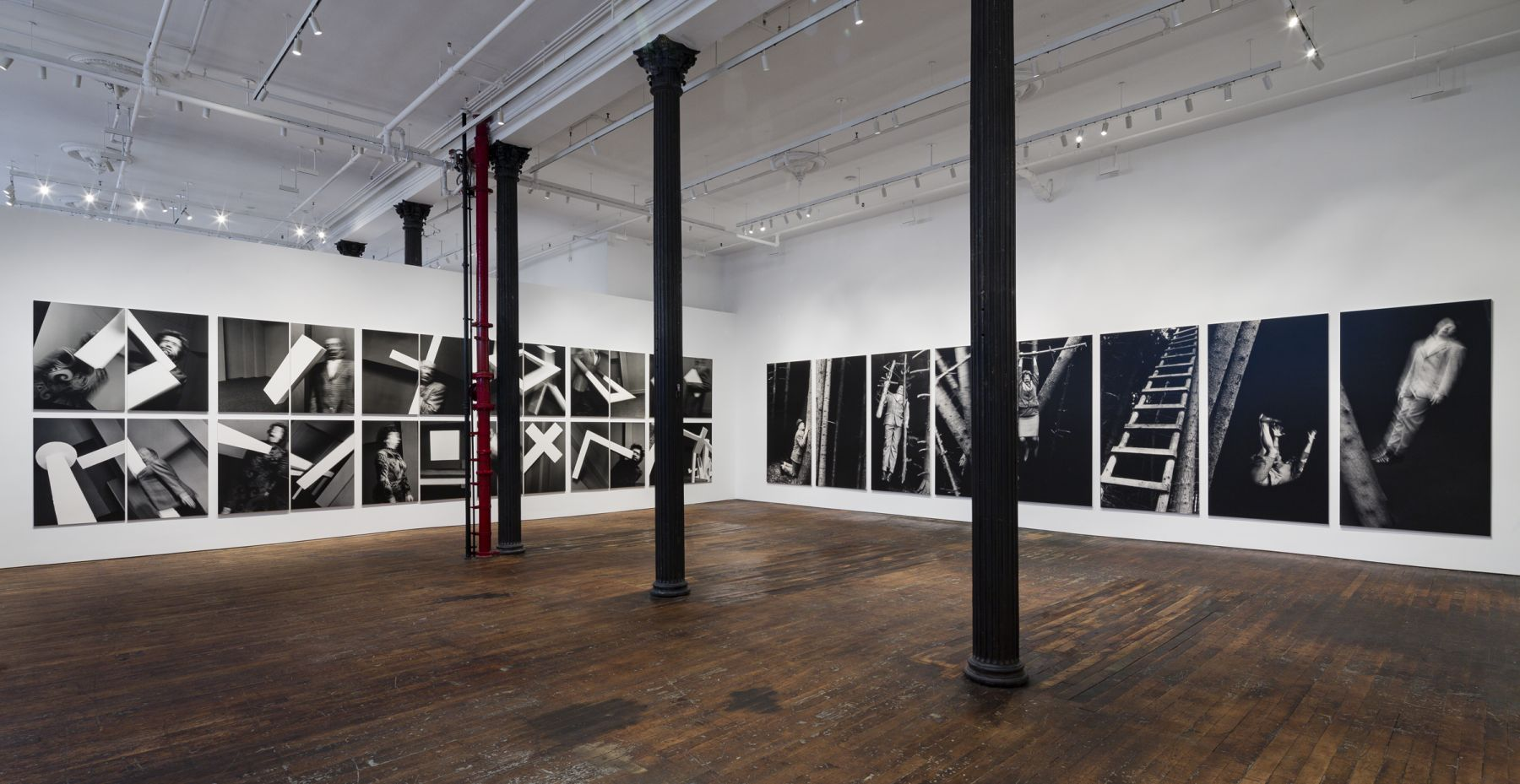 Anna and Bernhard Blume: Scenes from a Photo-Novel – installation view 5