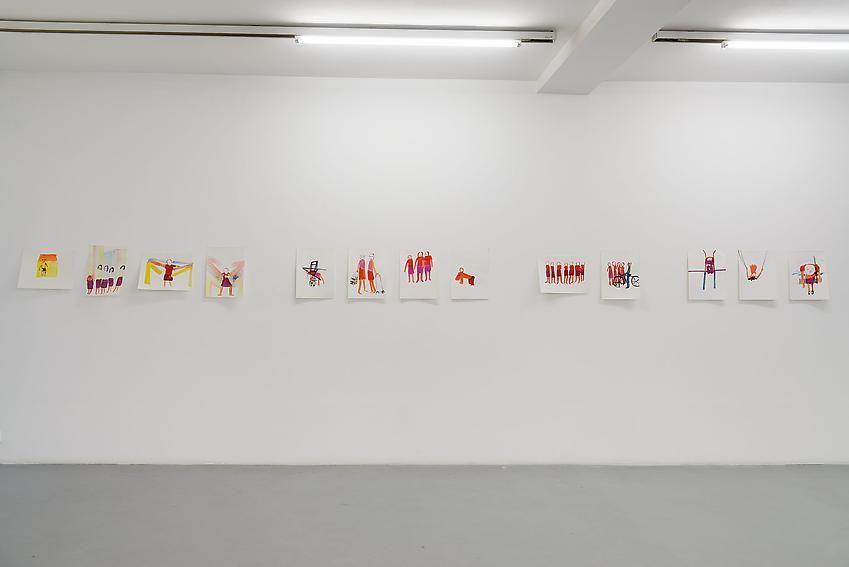 Anne-Marie Schneider – installation view 4