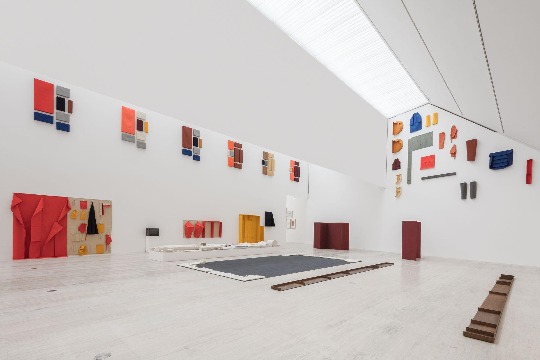 Franz Erhard Walther, Fundacion Jumex Arte Contemporaneo, Mexico City.