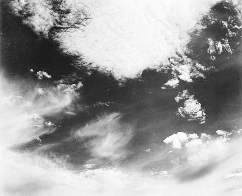Edward Weston, Clouds, Santa Monica
