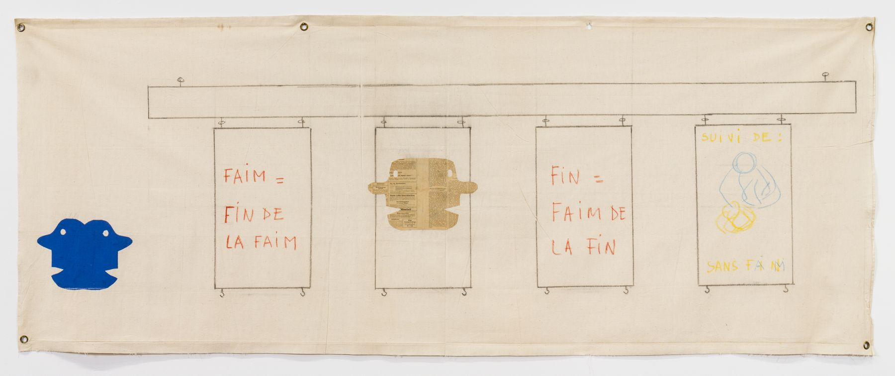 Faim = Fin de la faim [Hunger = End of Hunger], 1962/1975/1978